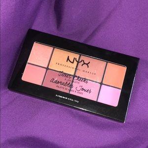 NYX Sweet Cheeks blush pink/neutral palette NIB